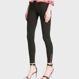 TED BAKER GOOD COND WASHED-OUT BLACK SKINNY JEANS